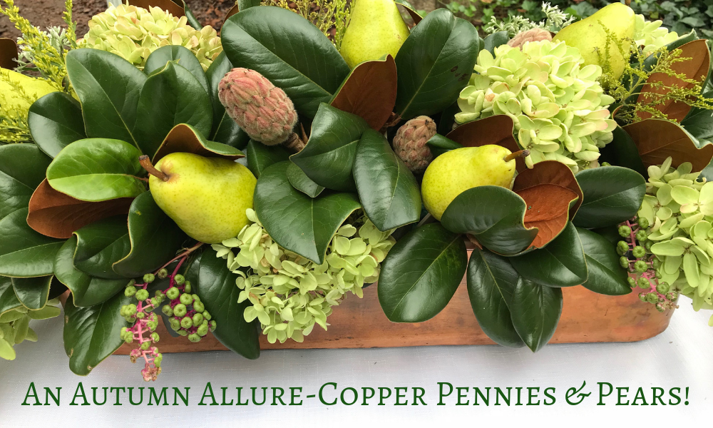 Copper Pennies & Pears Article- An Autumn Allure