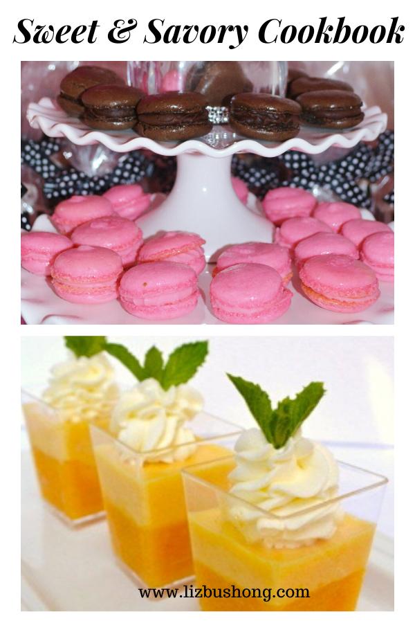 Sweets-Savory Cookbook collage lizbushong.com