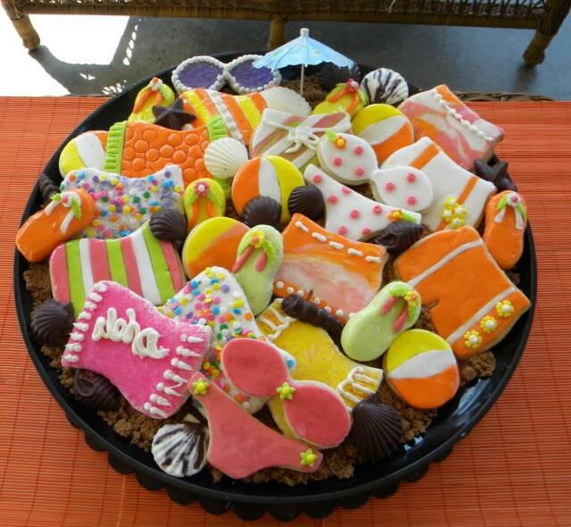 Beach Cookies Recipe www.lizbushong.com