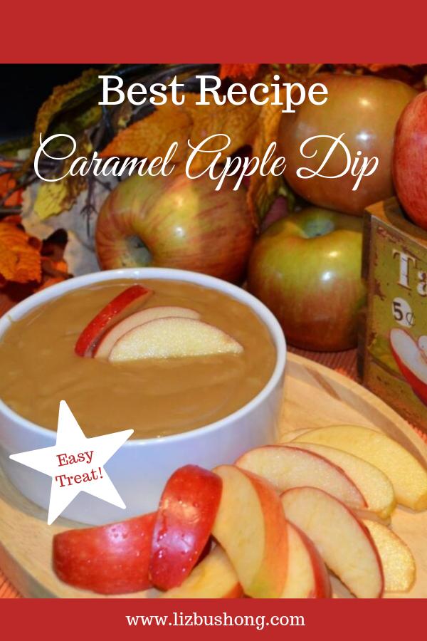 Best Caramel Apple Dip lizbushong.com