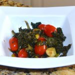 Kale and Sweet Cherry Tomato