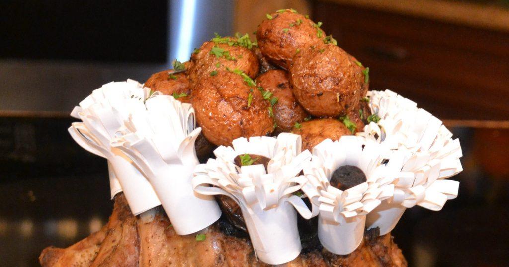 Crown Roast potatoes