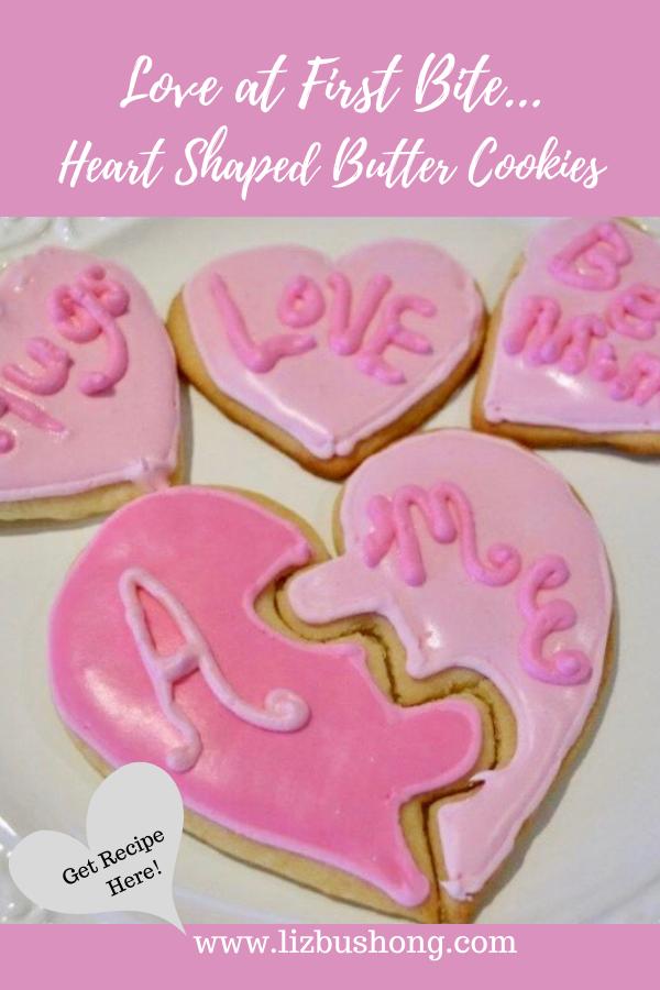Heart Shaped Puzzle Cookie Recipe lizbushong.com