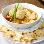 Chicken Matzo Ball soup|www.lizbushong.com