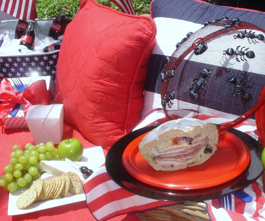 Pondside Picnic Food and setting lizbushong.com