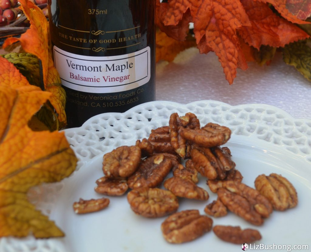 Vermont Maple Balsamic Pecans