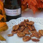 Vermont Maple Balsamic Pecans