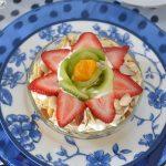 Layered Fruit Salad with Lime Pear Sauce RecipeGreek Yogurt and Fruit Parfait