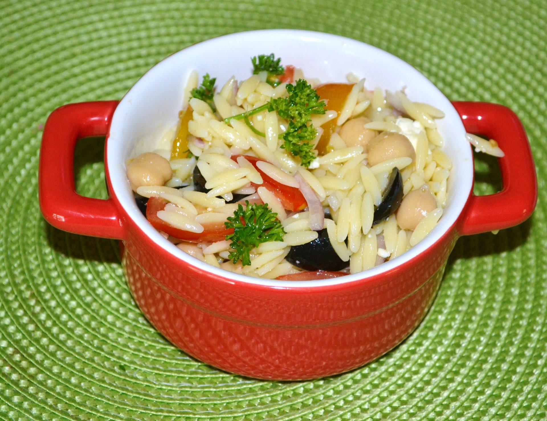 Orzo Tomato Salad