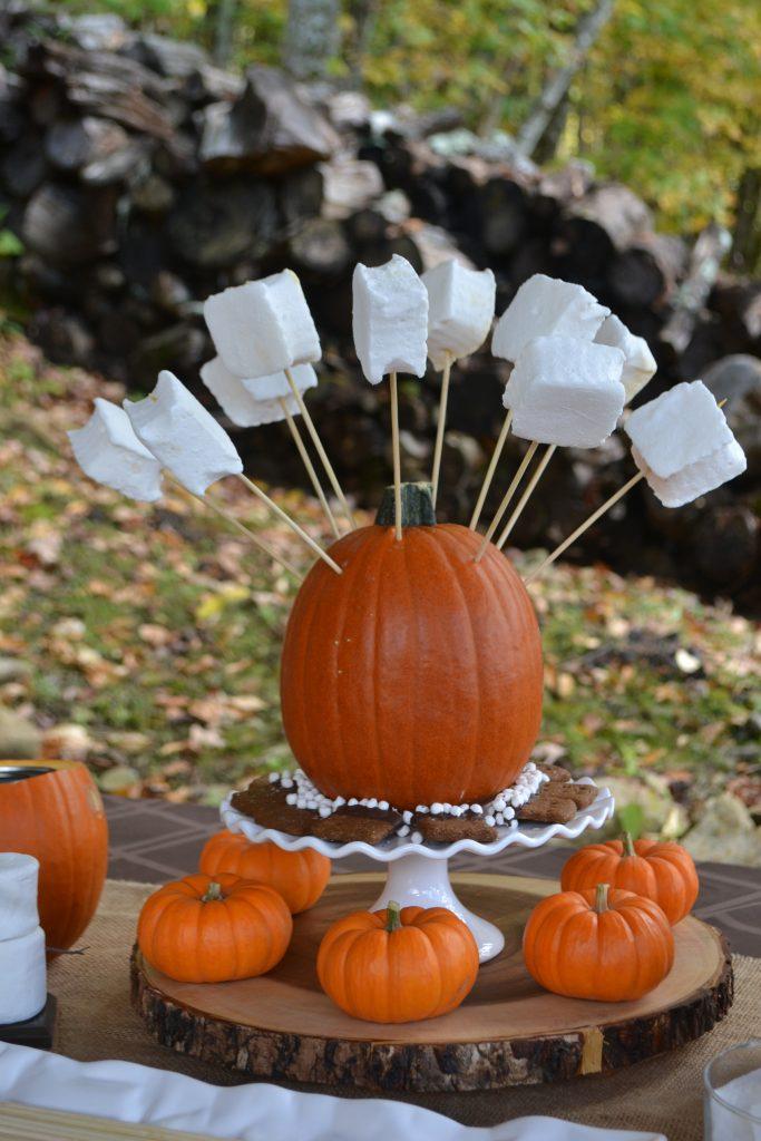 S'More Pumpkin Bar www.lizbushong.com