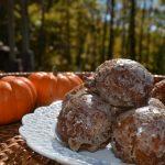 Pumpkin Spice Doughnut Holes-Cinnamon Glaze Recipe