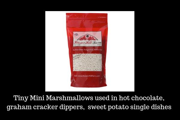 Tiny Mini Marshmallows,lizbushong.com
