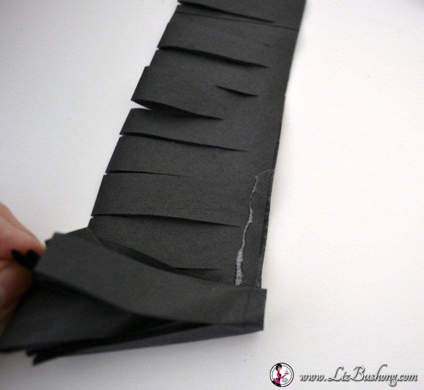 DIY: Tissue Paper & Card Stock Flowers|www.lizbushong.com