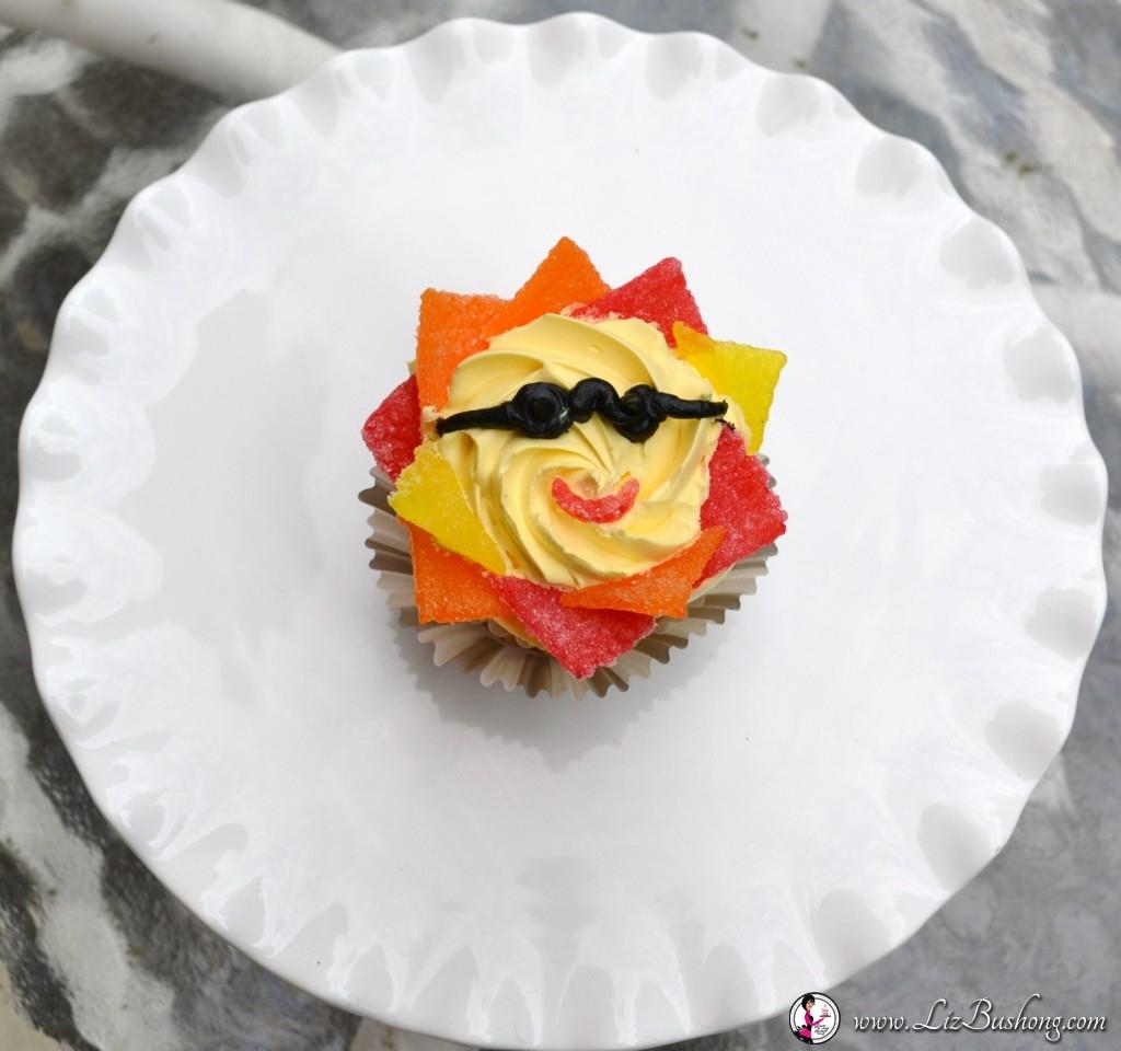 Catch the Rays-Sunshine Cupcake-www.lizbushong.com