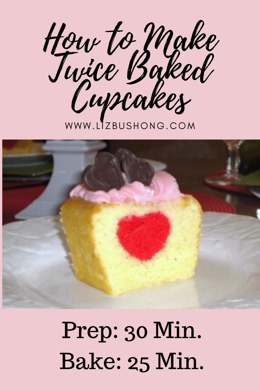 How to Make Twice Baked Cupcakes lizbushong.com