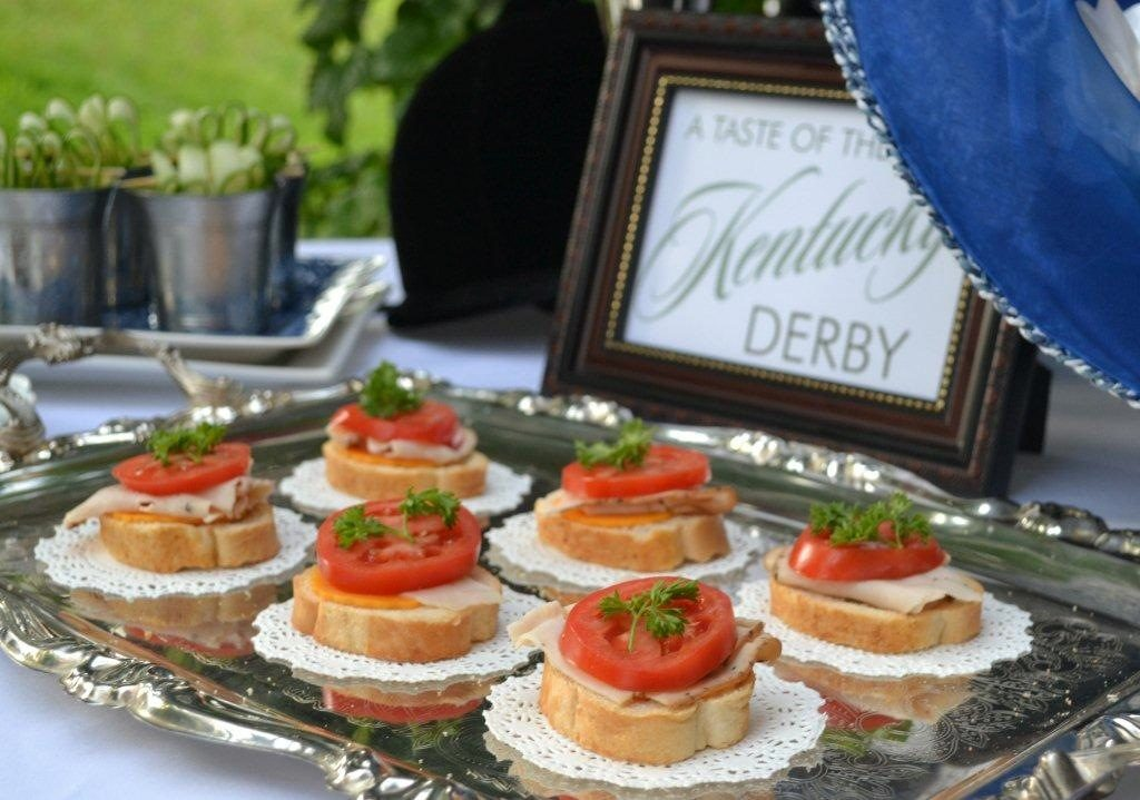 Hot Brown Appetizers- Kentucky Derby