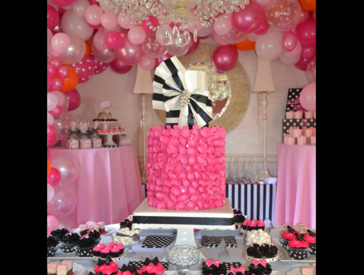 Party-Shower Ideas| hot pink-lizbushong.com