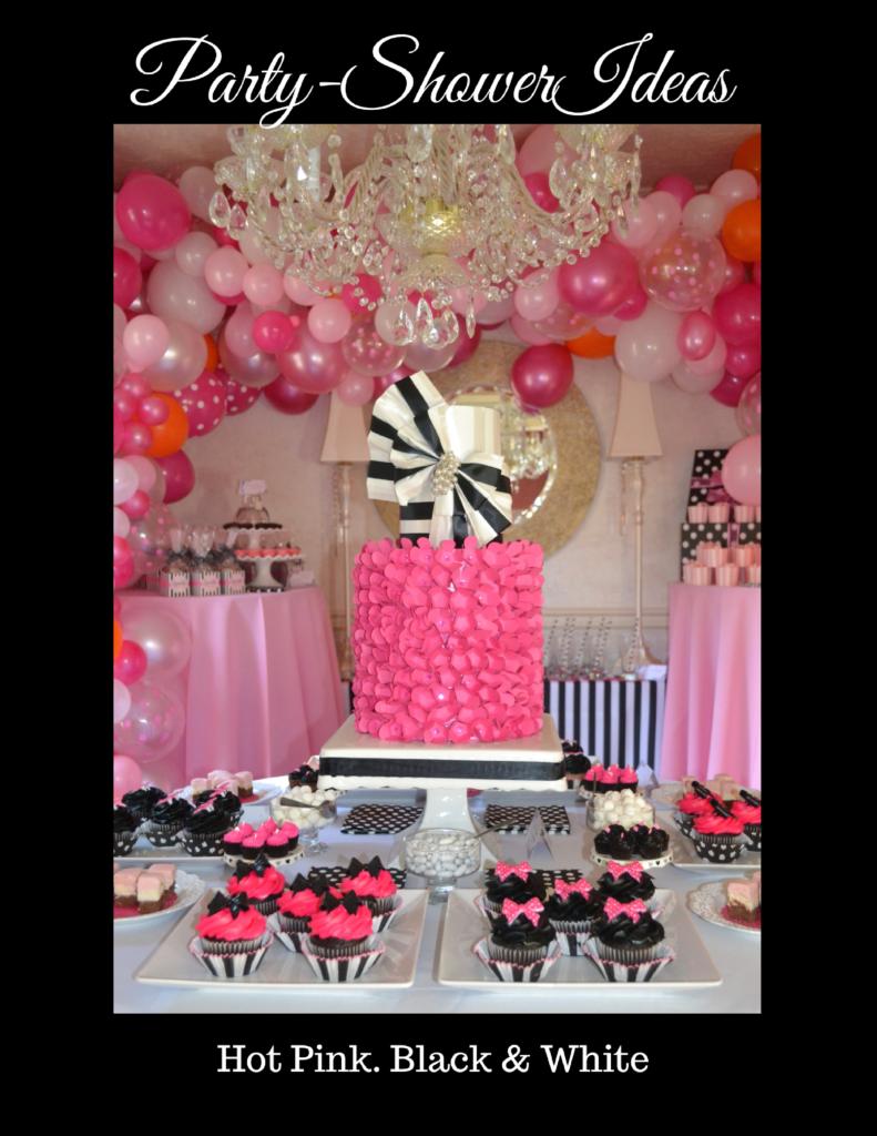 Party-Shower Ideas| hot pink-lizbushong.com