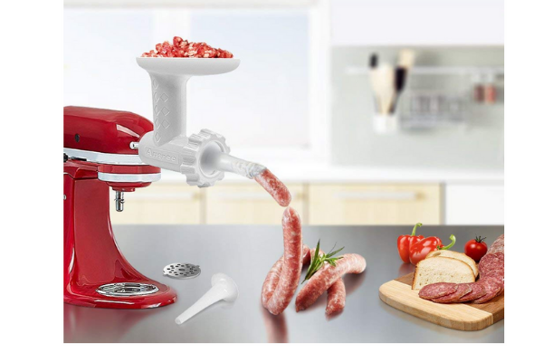 Sausage Filler Tube Attachment for KitchenAid Stand Mixer