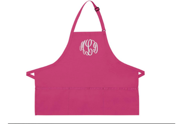 Woman's Apron Hot Pink