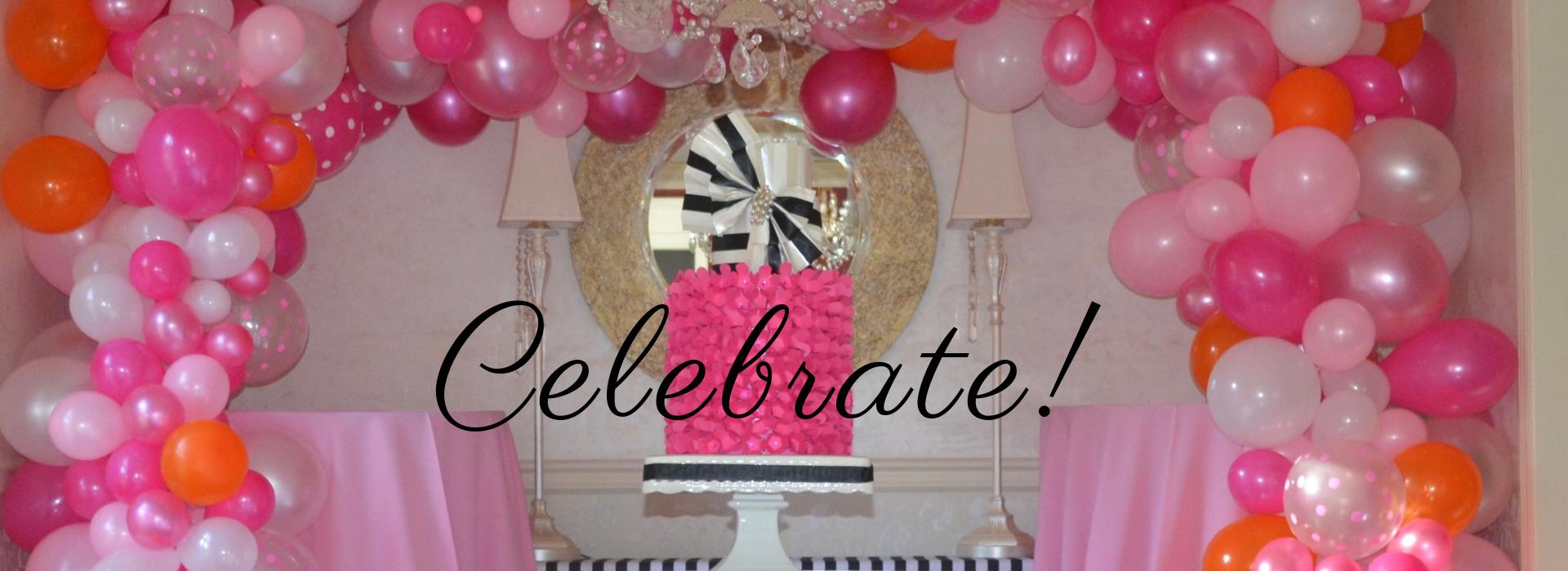 Slider- Pink Celebrate! lizbushong.com