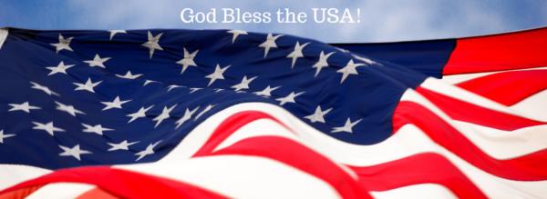 God Bless the USA American Flag lizbushong.com