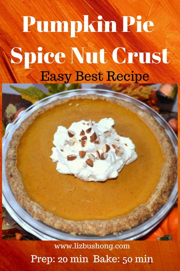 Pumpkin Pie Spice Nut Crust lizbushong.com