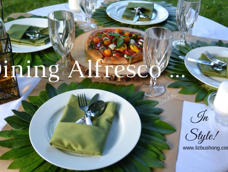 You tube video- Dining Alfresco ...