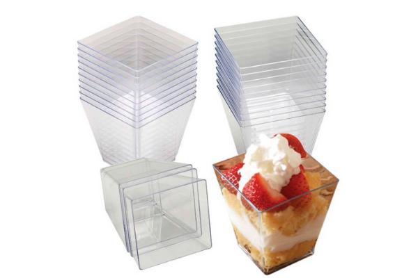 2 x 2 square dessert cups- lizbushong.com