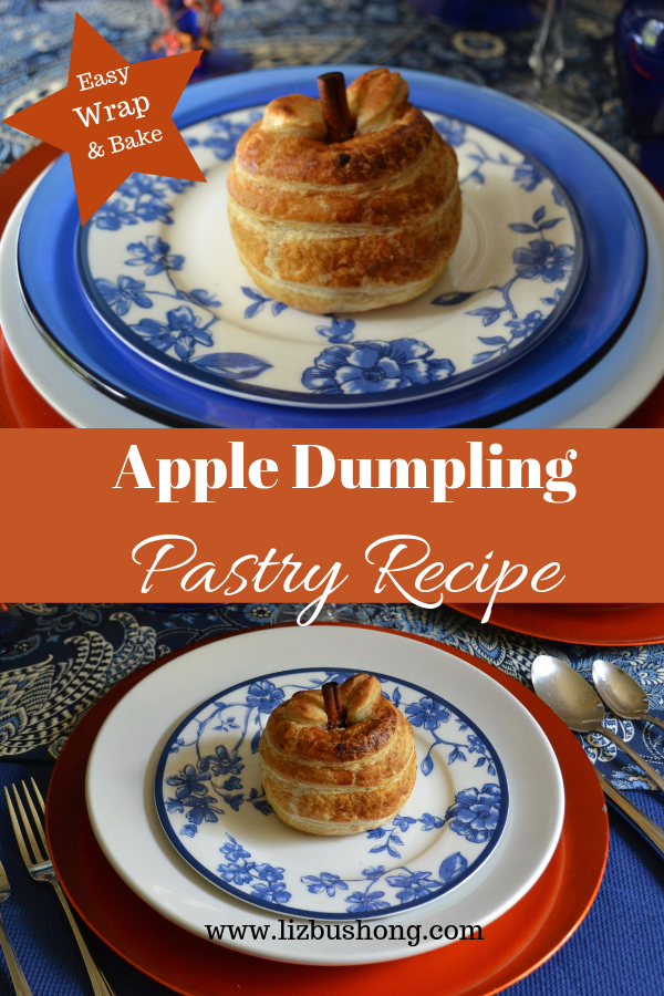 Apple Dumpling Pastry Recipe lizbushong.com