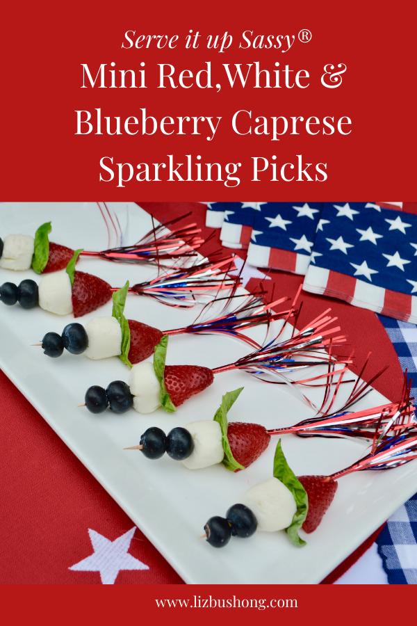 how to make berry caprese picks lizbushong.com