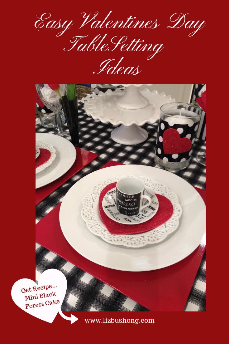 Easy Valentines Day Table setting Ideas- lizbushong.com copy