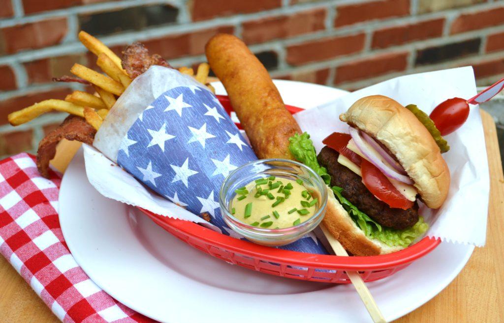All American Summer Meal lizbushong.com