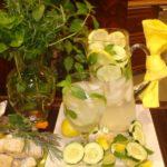Strawberry, Cucumber, Lemon Sassy Water Recipe|Beverage