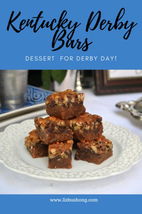 Kentucky Derby Bars Recipe- lizbushong.com