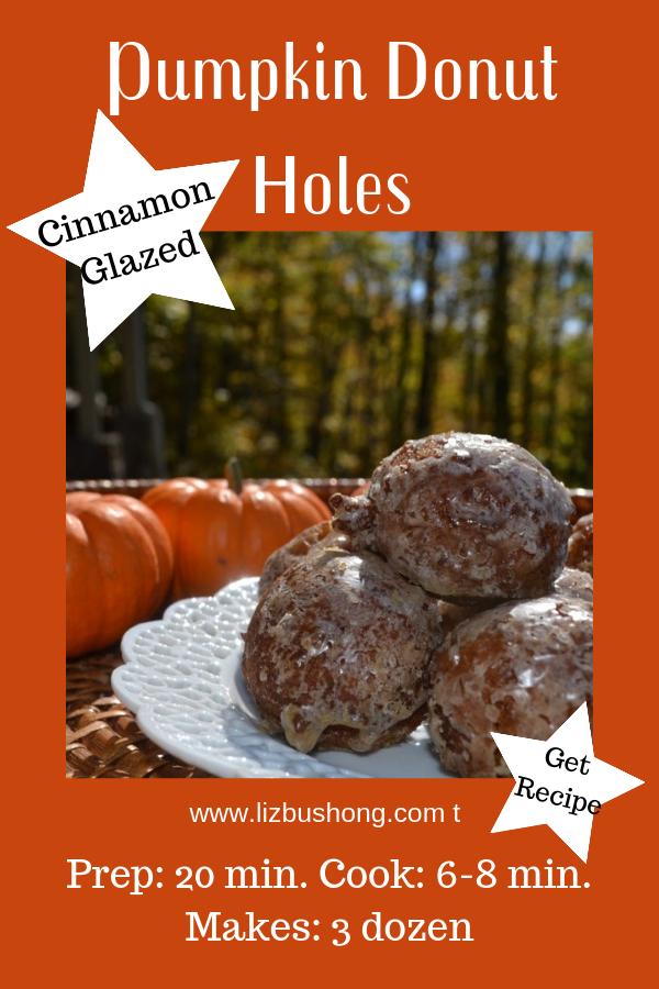 Pumpkin Donuts Holes lizbushong.compng