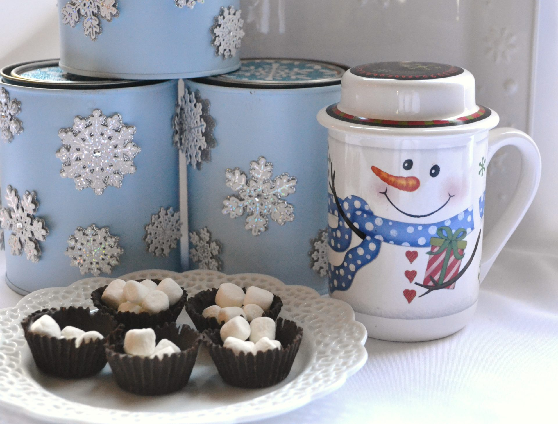 Spiced Cocoa Mix- snowman cocoa