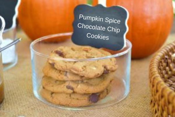 Pumpkin SpiceChocolate ChipCookies
