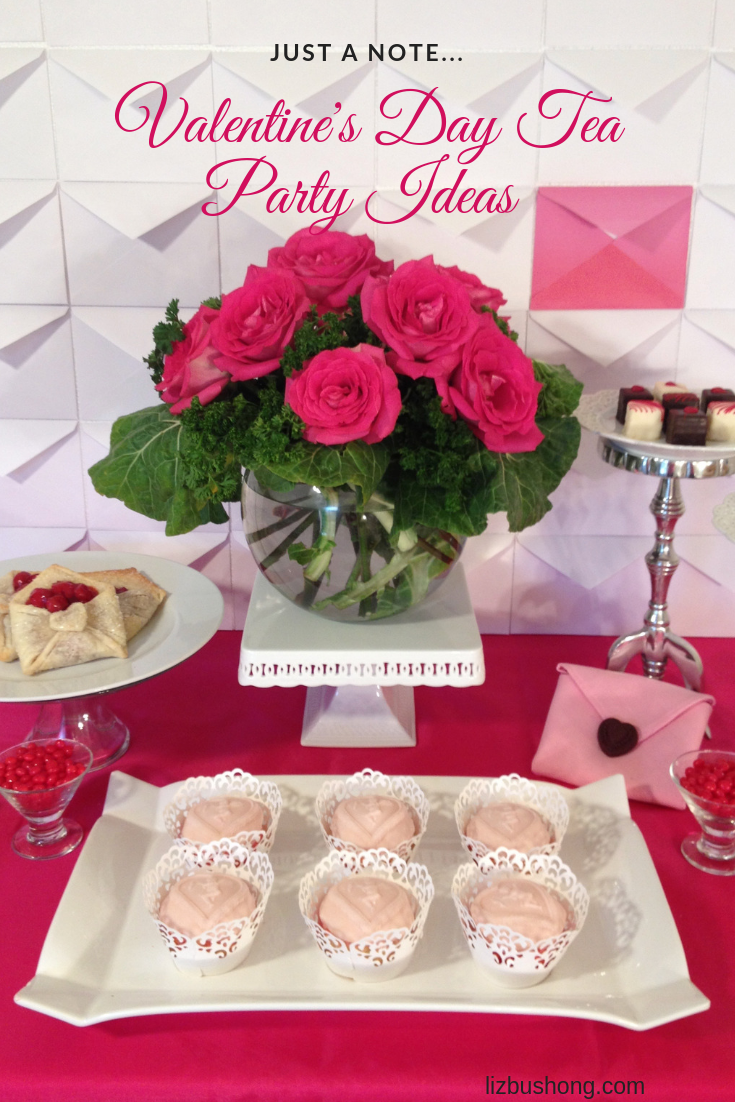 A Noteworthy Valentine Day Tea Party Ideas-lizbushong.com