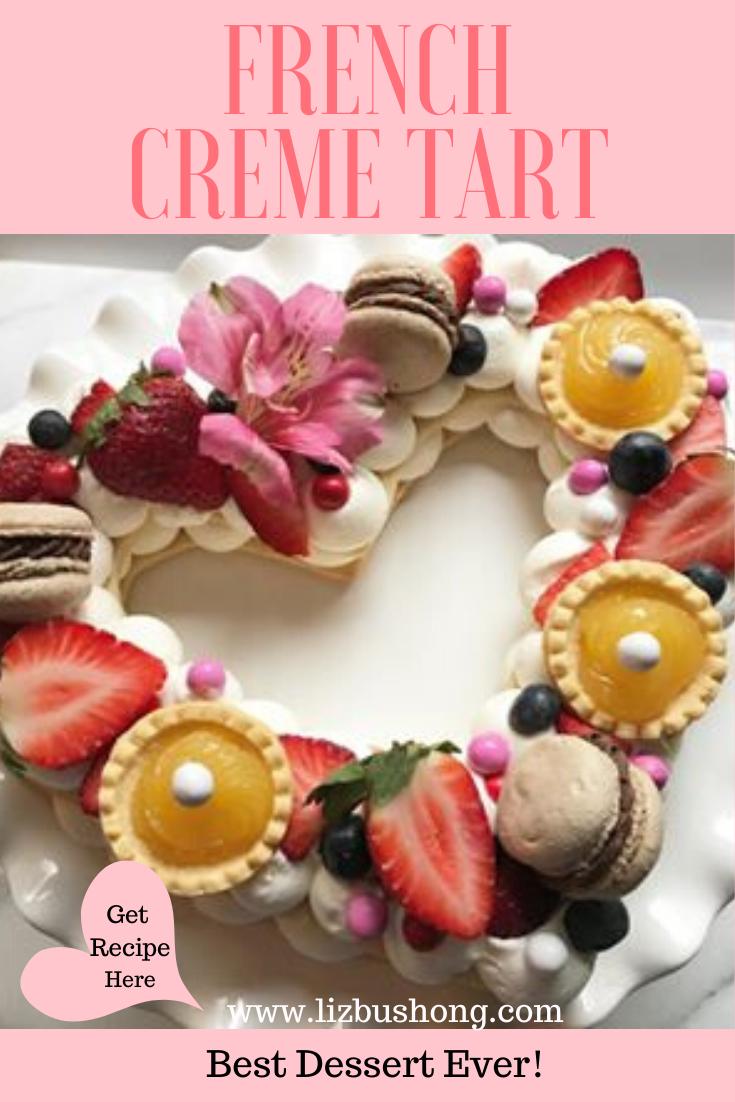 How to Make a Shortbread French Creme Tart Recipe lizbushong.com