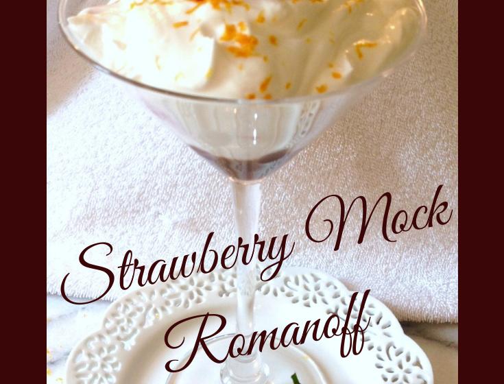 Strawberry Mock Romanoff