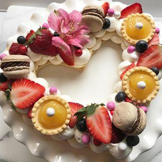 Valentine Cream Tart-lizbushong.com jpg