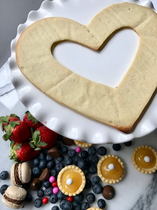 Valentine Cream Tart-shell-garnish-lizbushong.com