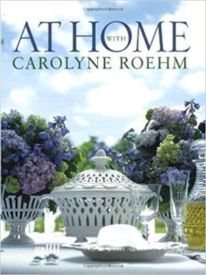 Carolyne Roehm At Home Book Cover. Lizbushong.com png