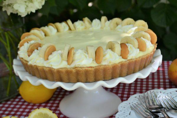 Slice of Summer Pies three cream filled easy to make pies, lemon cream, peaches & cream, Caramel banana cream pie recipe