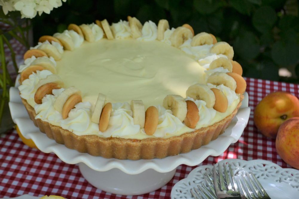 Slice of Summer Pies-Caramel Banana Cream Pie-close up-lizbushong.comDSC_8099