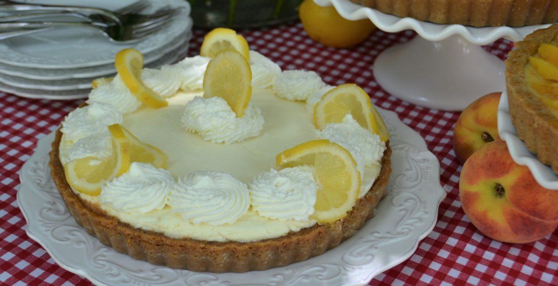 Slice of Summer Pies- Lemon Cream Pie- lizbushong.com