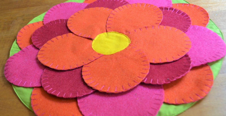 Blooming Flower Placemat-Materials -lizbushong.com
