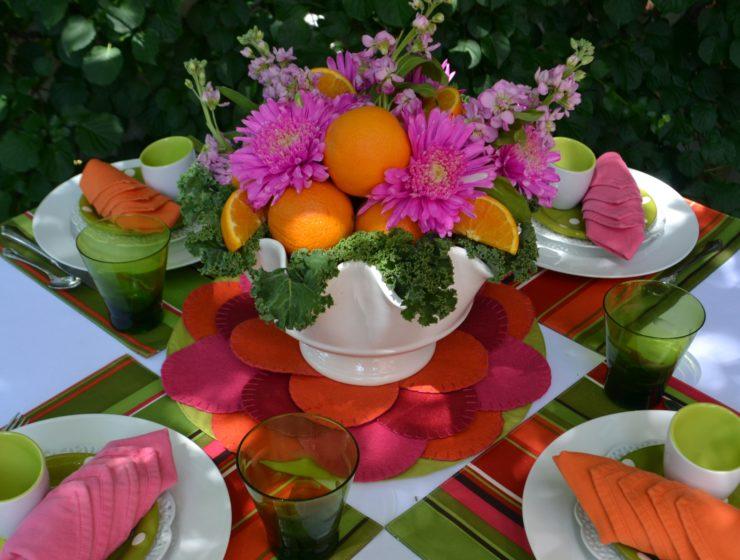 Fruit & Floral Tablescape 1 A-lizbushong.com