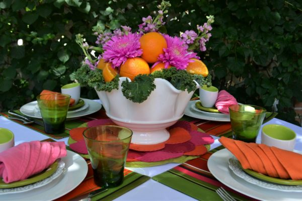 Fruit & Floral Tablescape-lizbushong.com